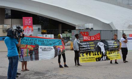 6 août 2017: plantage épique des racistes à Montréal