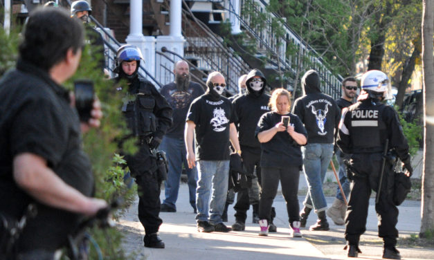 SOLDIERS OF ODIN IN MONTRÉAL: THE POLICE ARE (STILL) PROTECTING THE NAZIS!