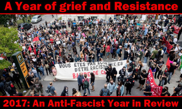 An Anti-Fascist Review of 2017