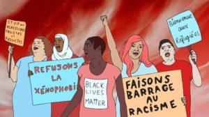 Mobilisation antiraciste contre La Meute