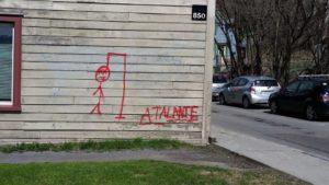 Atalante : pas les bienvenus - Atalante : not welcome @ Palais de justice