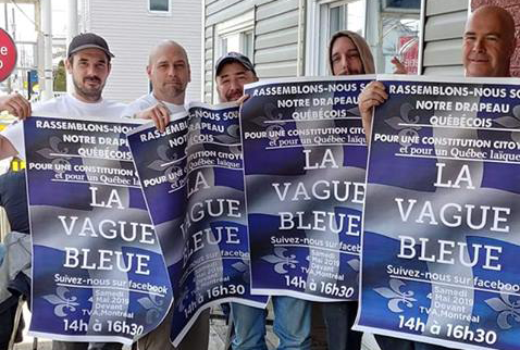 """Vague bleue"": The Racist, Islamophobic Fringe of Québec Nationalism Comes Out to Play"