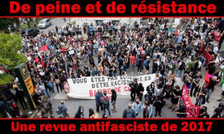 Bilan antifasciste de 2017 (1e partie)