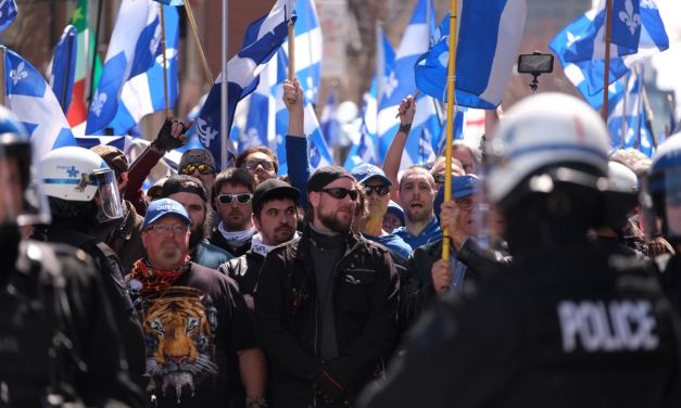 """Vague bleue,"" the Last Stand of Québec's Far-Right Soldier Wannabes"