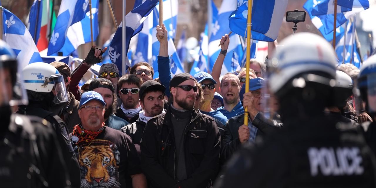 « Vague bleue », baroud d'honneur pour les petits soldats de l'extrême droite québécoise