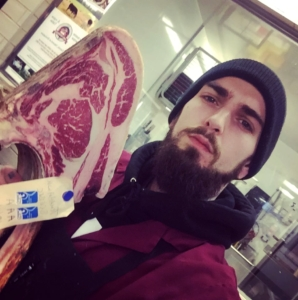 Vincent Cyr, butcher